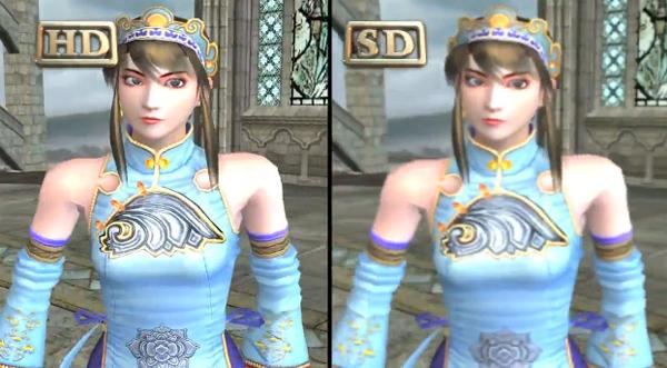 Soul Calibur II HD Online - Comparacion