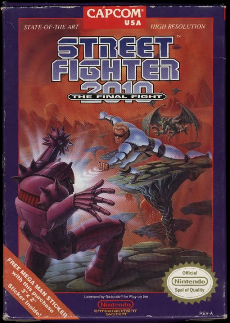 Street Fighter 2010 - NES