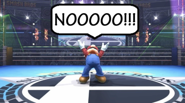 Super Smash Bros - Mario Nooooo