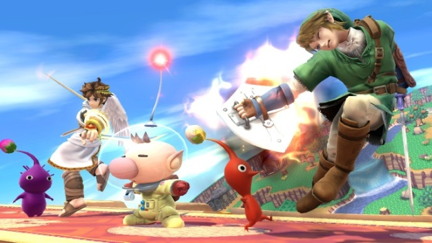 Super Smash Brothers Wii U - Capitan Olimar