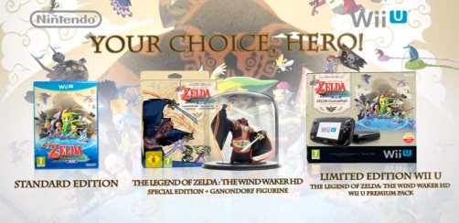 The Legend of Zelda Wind Waker HD Bundles