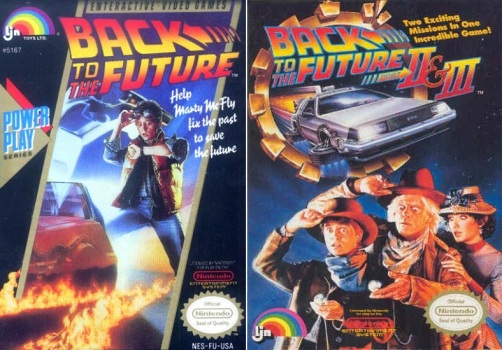 Back to the Future - Juegos de NES