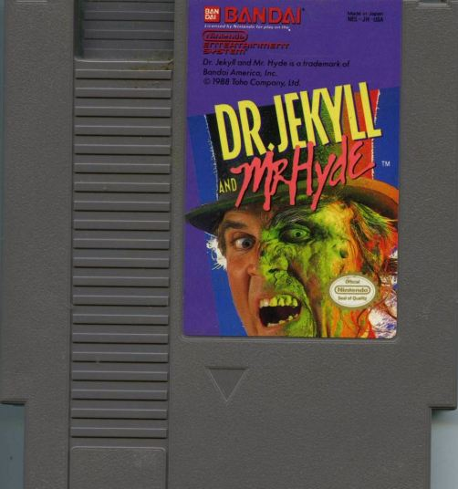 Dr. Jekyll and Mr. Hyde - NES