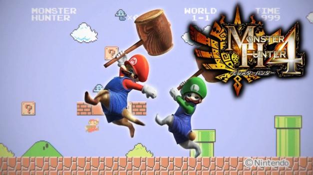 Monster Hunter 4 - Mario&Luigi