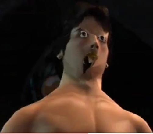 Rocky glitch - PS2