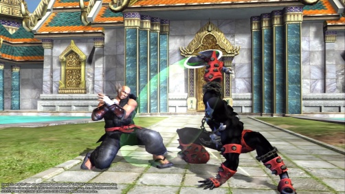 Soul Calibur II HD Online - Heihachi y Spawn