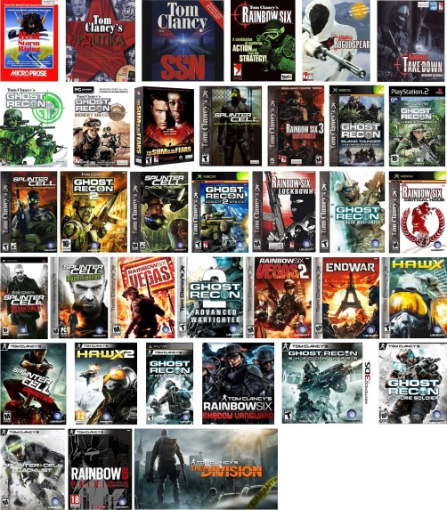 Tom Clancy's Videogames