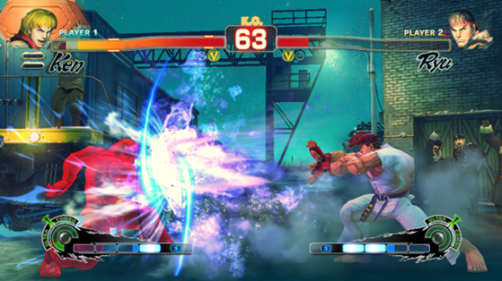 Ultra Street Fighter IV - Red Focus Attack