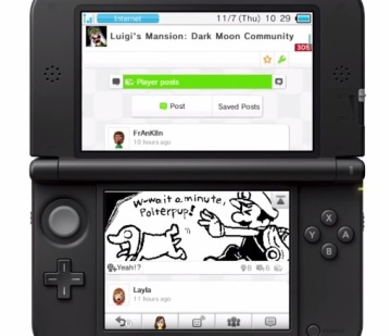 3DS - Miiverse