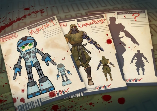 Yaiba Ninja Gaiden Z - Mighty No. 9 (1)