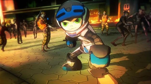 Yaiba Ninja Gaiden Z - Mighty No. 9 (2)