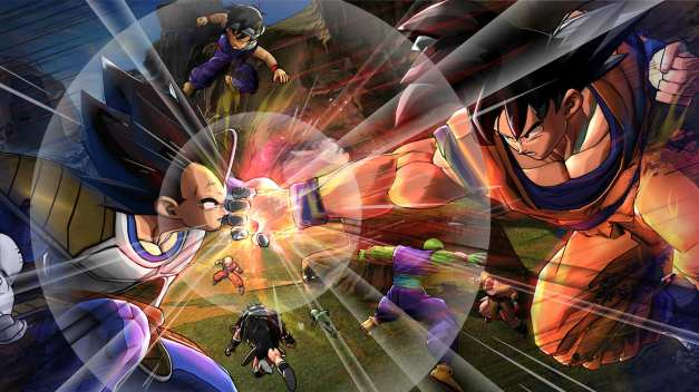 Dragon Ball Z Battle of Z - Goku vs Vegeta