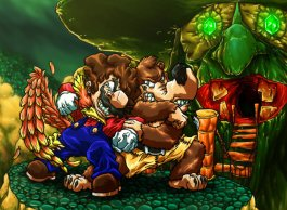 mario_vs__banjo_and_kazooie_by_sebastianvonbuchwald