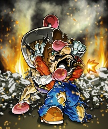 mario_vs__bomberman_by_hermesgildo