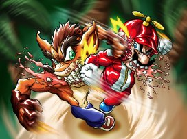 mario_vs__crash_by_hermesgildo