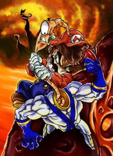 mario_vs__earthworm_jim_by_hermesgildo