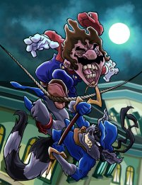 mario_vs__sly_cooper_by_hermesgildo