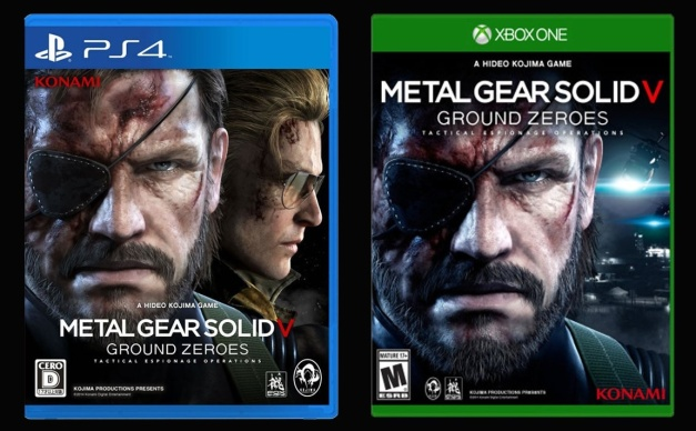Metal Gear Solid V Ground Zeroes - PS4 - Xbox One