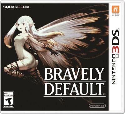 Bravely Default -Box art