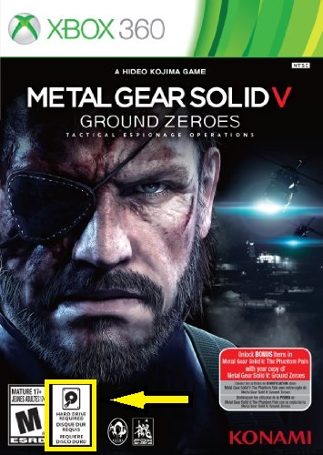 Metal Gear Solid V Ground Zeroes - Xbox 360 Advertecia