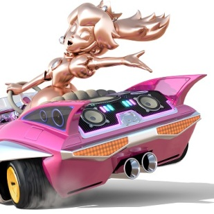 Mario Kart 8 - Pink Gold Peach