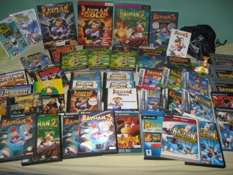 Rayman - Coleccion de juegos
