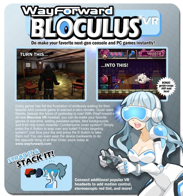 WayForward - Bloculus VR
