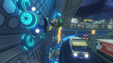 Mario Kart 8 - Antigravitacional
