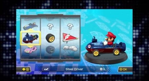 Mario Kart 8 - Personalizacion