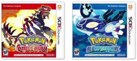Pokemon Omega Ruby & Alpha Sapphire - 3DS