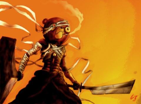 Afro Samurai - Kuma