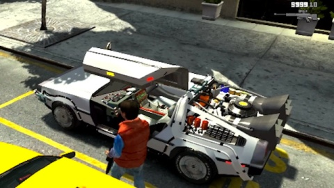 GTA IV Mod - Volver al Futuro