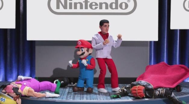 Nintendo Digital Event - Reggie & Mario