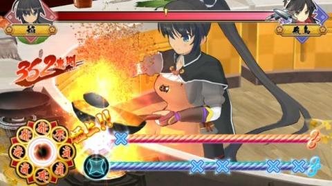 Senran Kagura Bon Appetit - Gameplay