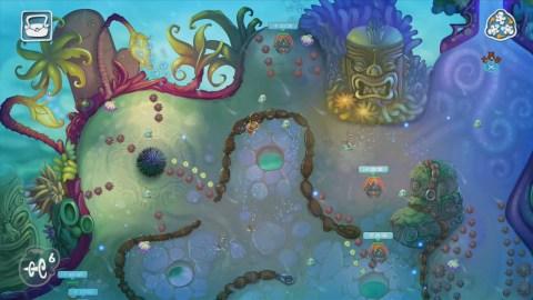 Squids Odyssey - Gameplay