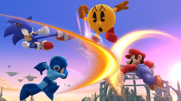 Super Smash Bros - Pac-Man