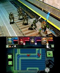 Teenage Mutant Ninja Turtles 3DS - Gameplay (2)