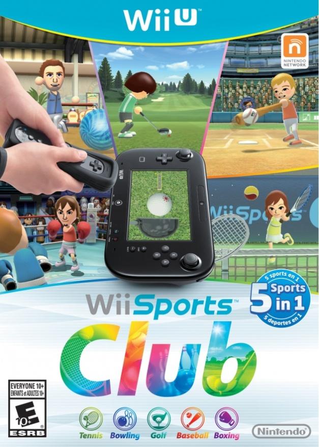 Wii Sports Club - Wii U Box art