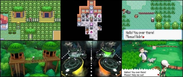 Comparacion Pokémon Omega Ruby & Pokémon Alpha - 3DS vs GBA