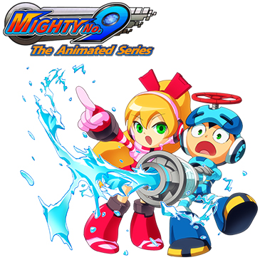 Mighty No 9 The Animated Series - Arte promocional