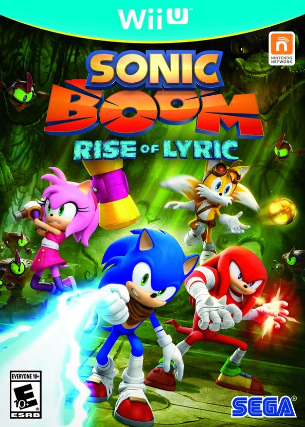 Sonic Boom Rise of Lyric - Wii U Box art