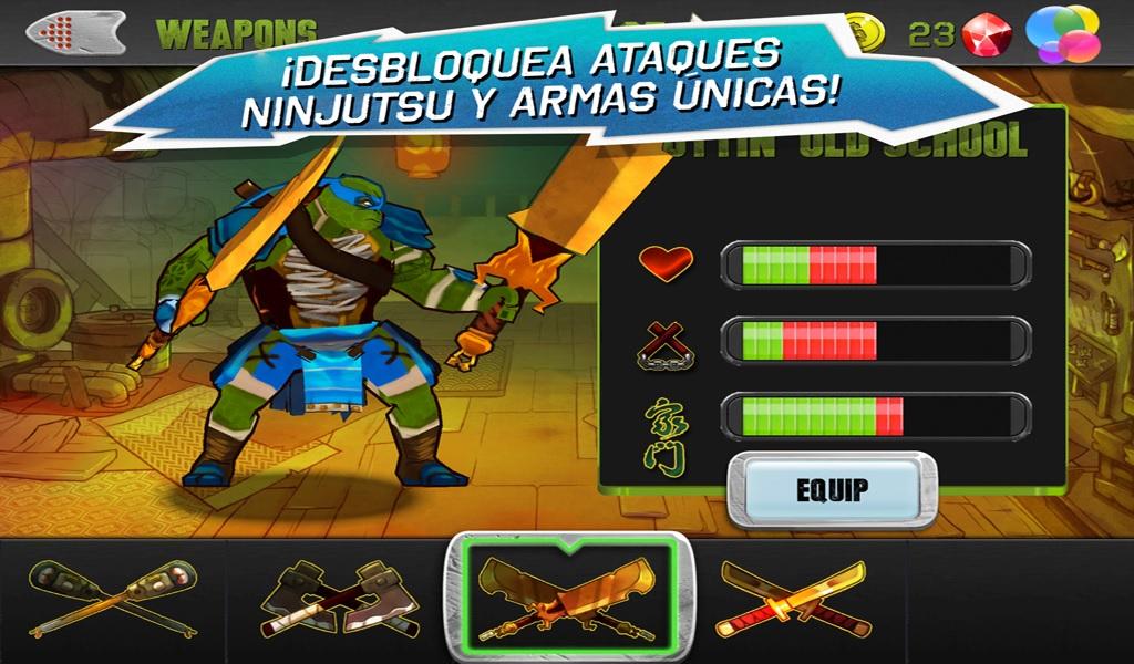 Juegos de Las Tortugas Ninja - JuegosGabi.com - Juegos