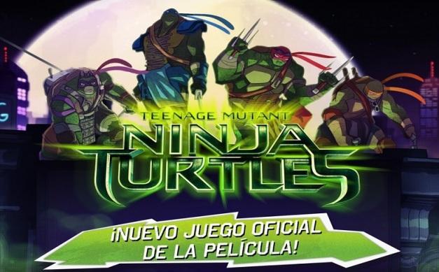 Teenage Mutant Ninja Turtles - Nuevo juego oficial de la pelicula
