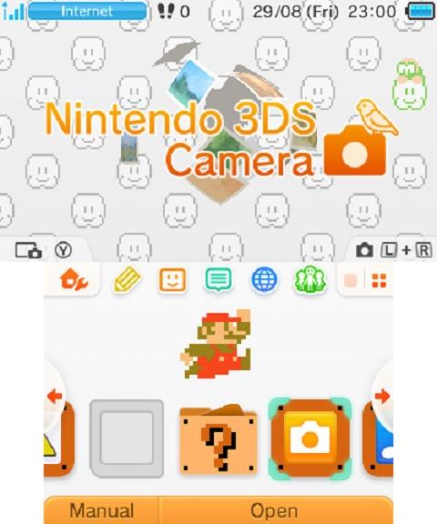 3DS Tema - Super Mario Bros