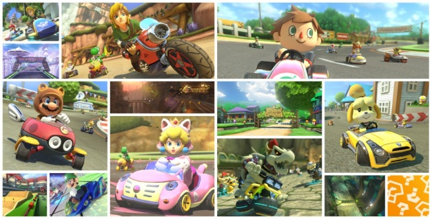 Mario Kart 8 DLC - Pack 1 & Pack 2