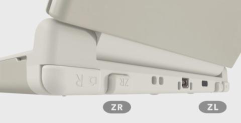 New Nintendo 3DS - Botones ZL&ZR