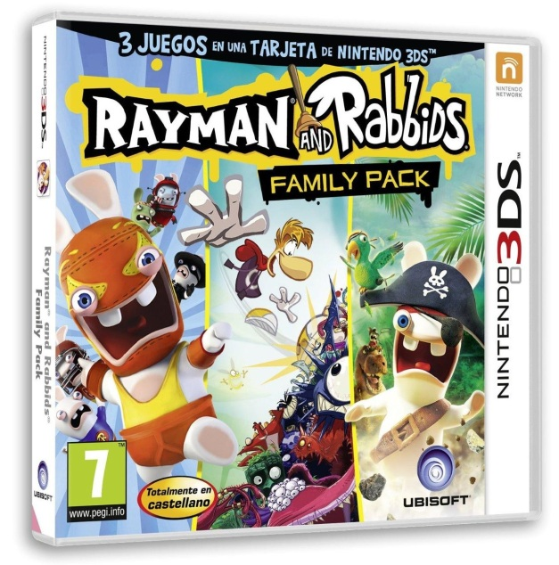 Rayman and Rabbids Family Pack - 3DS