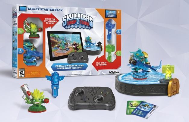 Skylanders Trap Team (Tablets) - Startern Pack