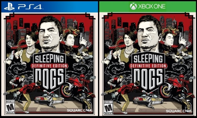 Sleeping Dogs Definitive Edition - PS4  & Xbox One (Box arts)