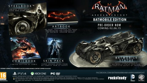 Batman Arkham Knight - Batmobile Edition